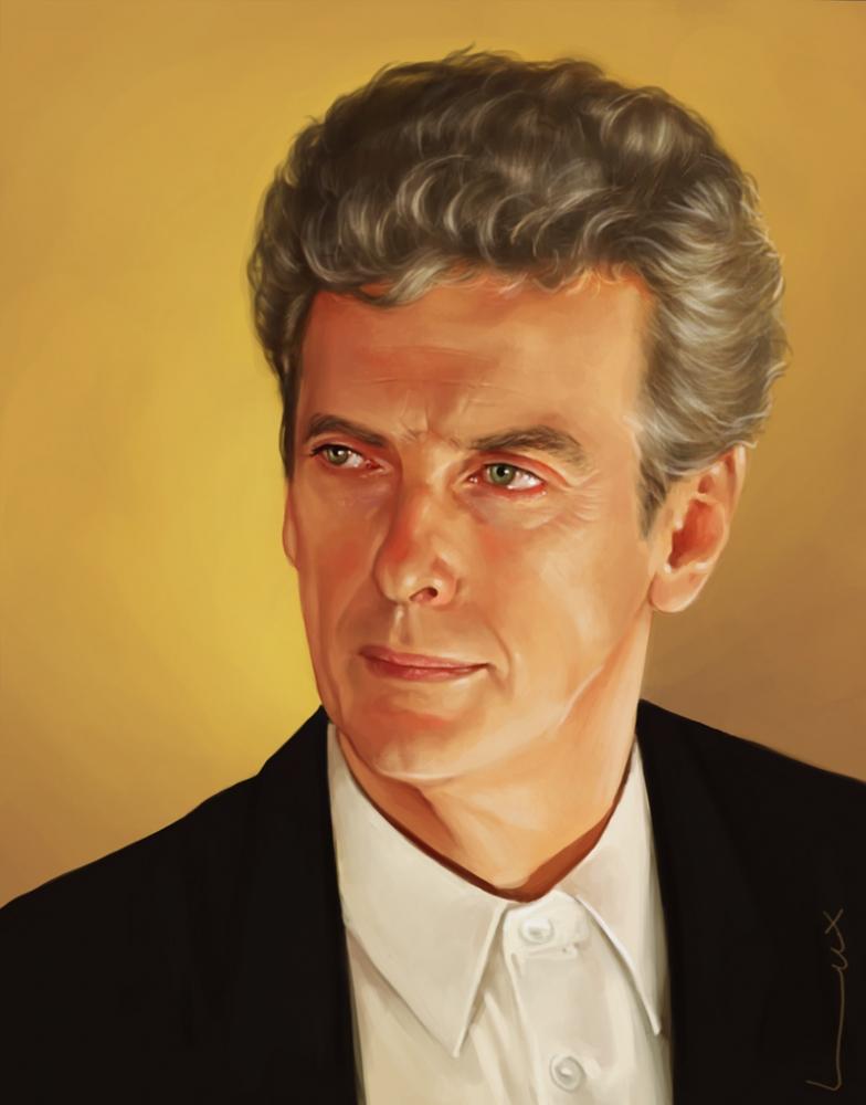 Peter Capaldi by luluxa